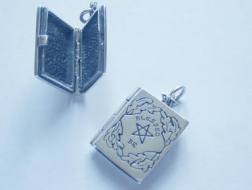 Wiccan Book of Shadows Locket