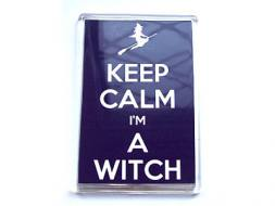 Keep Calm I'm a Witch Magnet