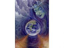 The Gaia/Mother Earth Card