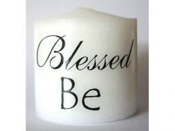 Blessed Be Candle