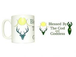 Blessed by the God and Goddess Mug