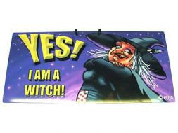 Yes! I am a Witch! Sign