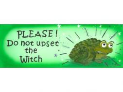 Please Do Not Upset The Witch Mug