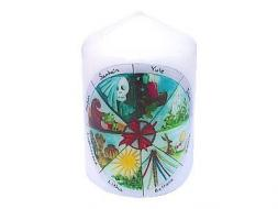 Wheel of the Year Candle