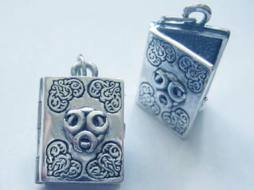 Triple Moon Book of Shadows Locket