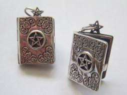 Master Grimoire Book of Shadows Locket