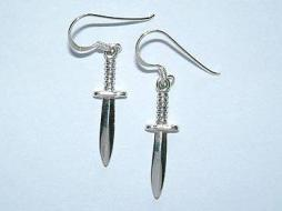 Athame Earrings