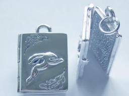 Hare Book of Shadows Locket