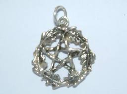 Oak Leaf Pentacle Pendant