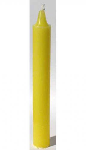 "Yellow 6"" Taper Candle"