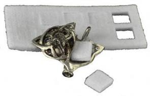 Celtic Wolf Locket