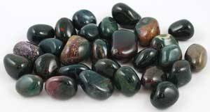 Bloodstone Tumbled Stone : Small