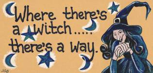 Where there's a Witch.. Sign.