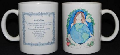 Gaia the Goddess Mug