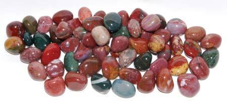 Fancy Jasper Tumbled Stone: small