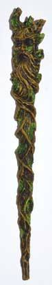 Green Man Wand